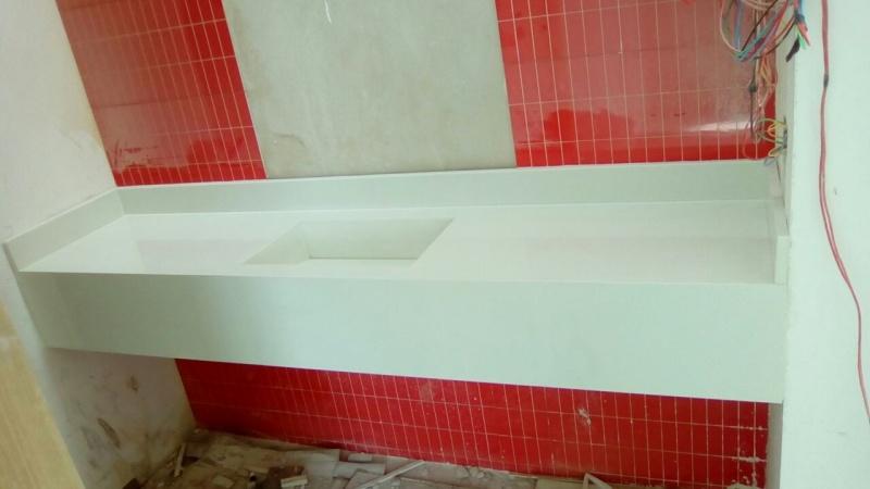 Granito para Bancada de Banheiro Preço em Pirituba - Granito Preço M2 Colocado