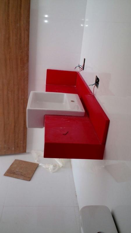 Granito para Bancadas de Banheiros em Perdizes - Granito Preço M2 Colocado