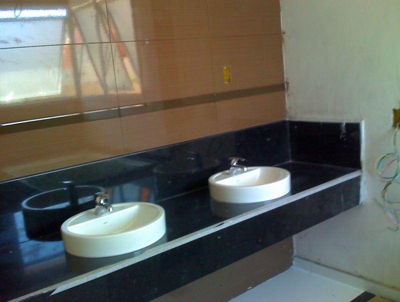 Granito para Banheiro Preço no Conjunto Residencial Glória - Granito para Bancada de Pia