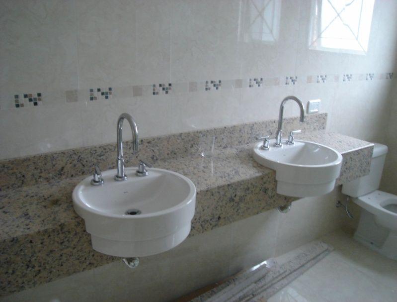Granito para Banheiro em Santo Amaro - Granito para Bancada de Pia