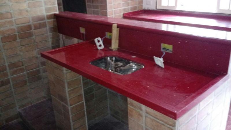 Granito para Cozinha Preço na Chácara Pouso Alegre - Revestimento de Granito para Fachada