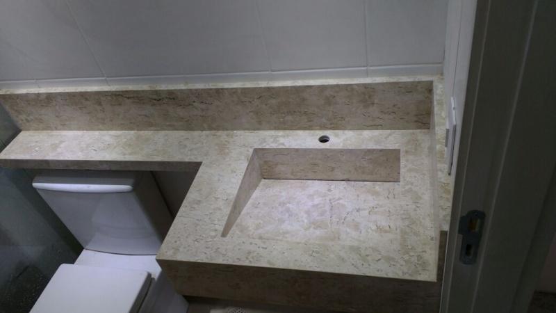 Mármore e Granito para Banheiros  Ravi Comércio de Mármores -> Banheiro Pequeno Granito