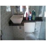 bancada de mármore para banheiro preço na Vila Tiradentes