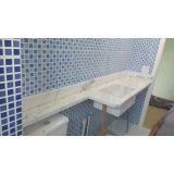 piso de mármore branco Jardim Rizz